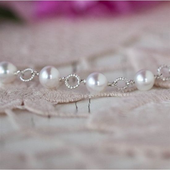 Beautiful Pearl Necklace - Little Girl's Pearls