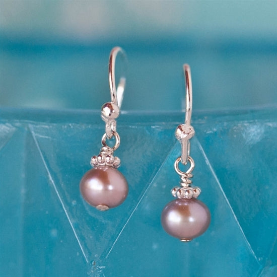 Precious Pearl French Hook Earrings - Little Girl's Pearls