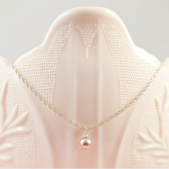Precious My Keepsake Pearl Necklace - Little Girl's Pearls