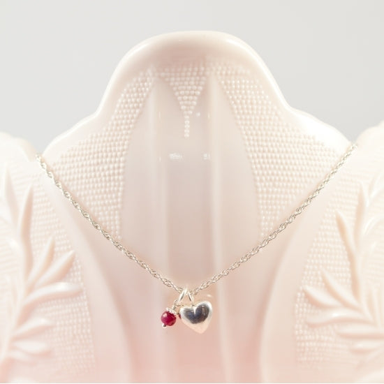 My Little Sweetheart Necklace - Little Girl's Pearls