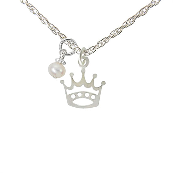 My Little Princess Necklace - Little Girl's Pearls