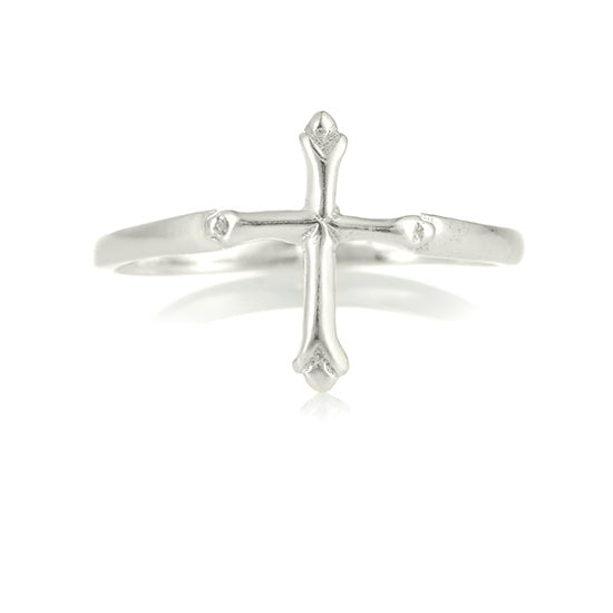 Beautiful little cross ring - Little Girl's Pearls