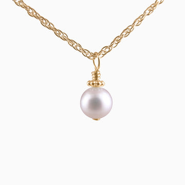 Precious My Keepsake Pearl Necklace in Gold
