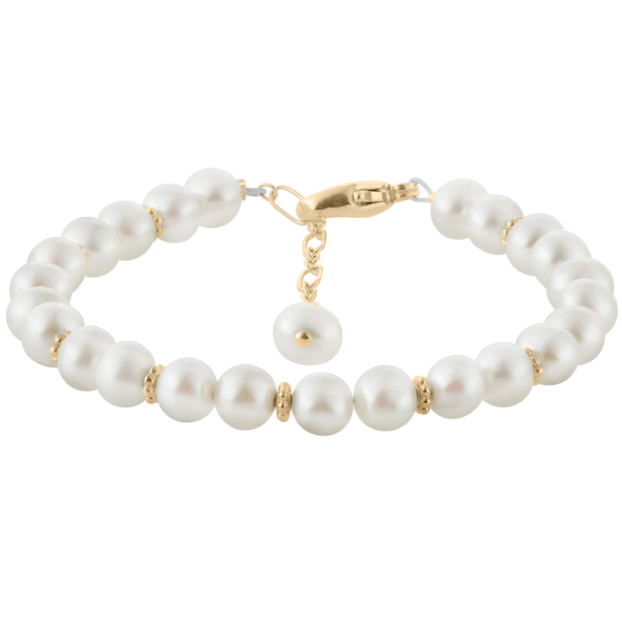 Precious Pearls Bracelet in Gold-Filled