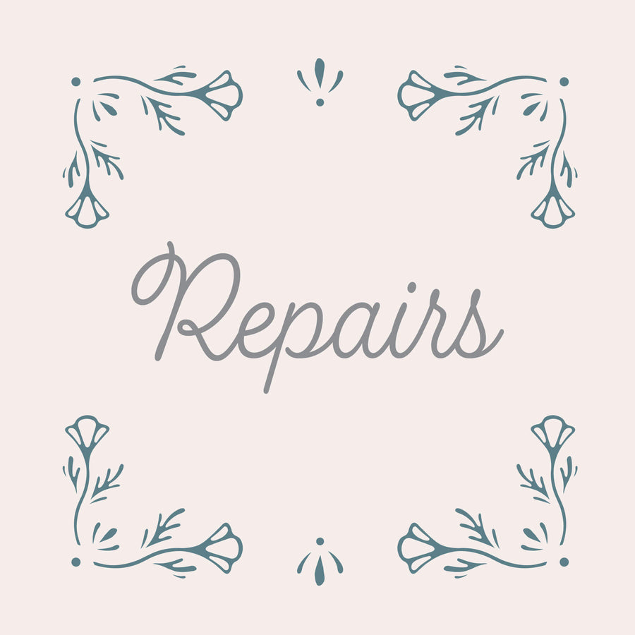 Repair Instructions - Little Girl's Pearls