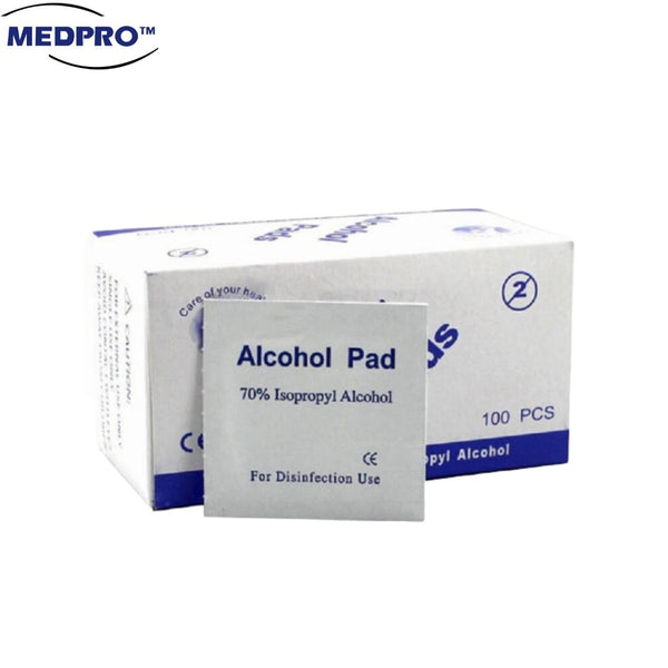 100pcs/box Alcohol Swab / Pad / Antiseptic Wipes