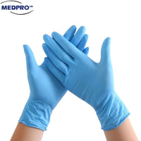 100pcs/box Nitrile Medical Grade Hand Gloves Size S/M/L