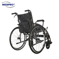 MEDPRO™ New Style Portable Wheelchair with Foldable Backrest Wheelchair