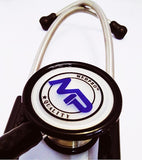 MEDPRO™ Stainless Steel Cardiology Stethoscope [CE Certified] for Adults & Pediatrics