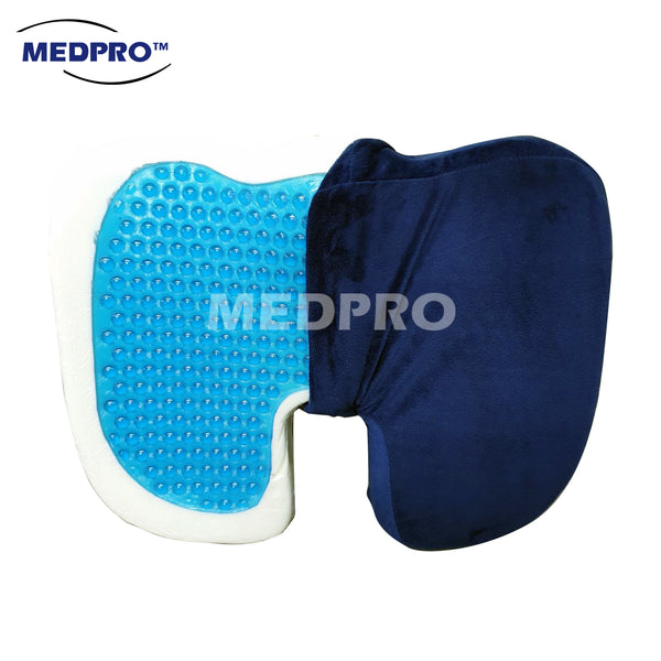 MEDPRO™ Memory Foam Seat Cushion with Cooling Gel