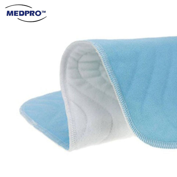 MEDPRO™ Reusable Washable Laminated Incontinence Bed Pad for Patients/ Elderly/ Children