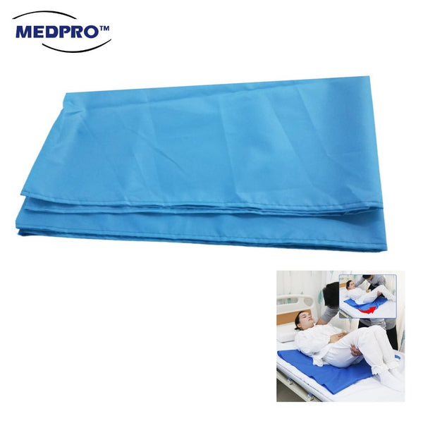 MEDPRO™ Tubular Slide Sheet Easy Transfer Patient Bed Slide Sheet Waterproof in Teal Blue