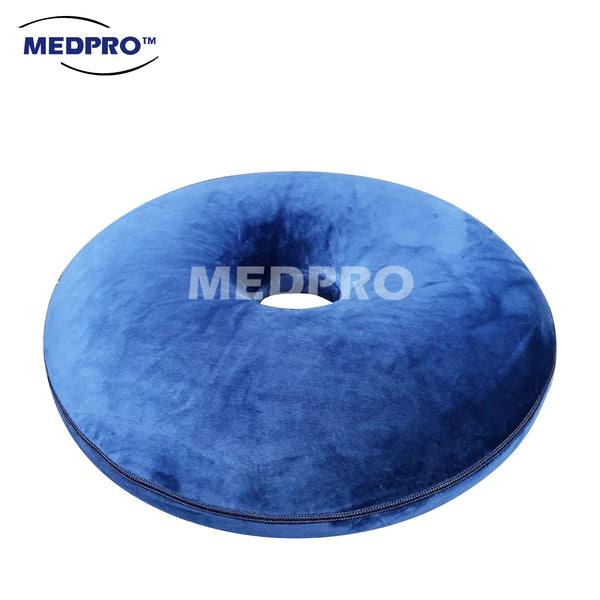 MEDPRO™ Memory Foam Donut Ring Seat Cushion For Pain Relief / Haemorrhoid