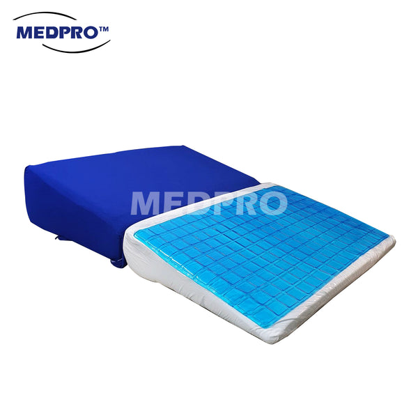 MEDPRO™ Multi-Functional Wedge Pillow with Cooling Gel