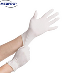 100pcs/box Medical Grade Latex Hand Gloves [Choice of Powdered / Non-Powdered] Size S/M/L