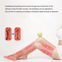 Air Compression Lower Limbs Massager with Remote Control