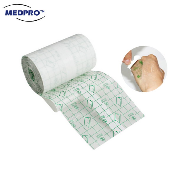 MEDPRO™ Transparent Wound Dressing Roll 10cm x 10meters