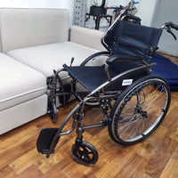MEDPRO™ NEW STYLE Portable Wheelchair with Foldable Backrest Wheelchair SLY-117X