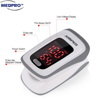 New JPD-500E Jumper Finger Pulse Oximeter with Alarm Setting [FDA Approved] + 9months warranty