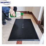 MEDPRO™ Shoe Sanitizer Mat | Shoe Disinfectant Dispensing Tray Mat  + FREE Anti-slip Microfiber Mat!