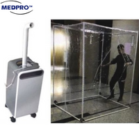 (SALE/RENTAL) Entrance & Exit Disinfection Tunnel with Sterilization Fogging Spray Machine