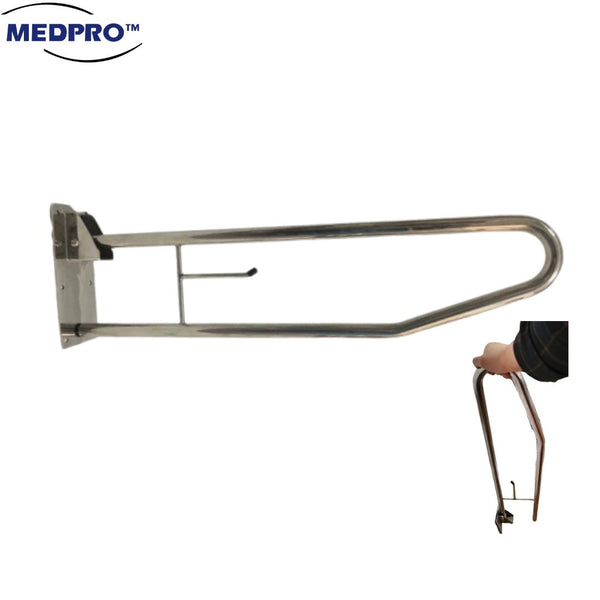 Stainless Steel Anti-skid Toilet Safety Grab Bar Handle (Anti-rust!)