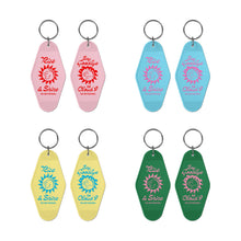 Load image into Gallery viewer, RISE & SHINE HOTEL KEYCHAIN