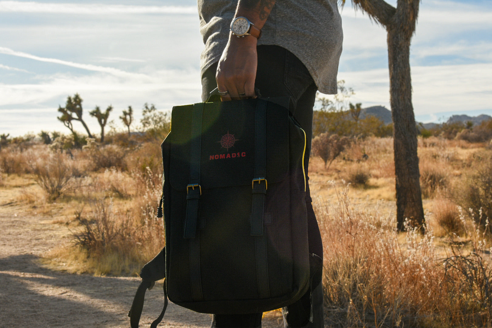 Black Luxury Backpack