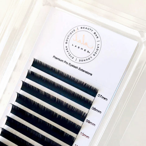 Lash Extension Trays - Lala Lashes Charlotte