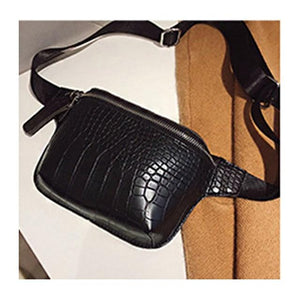 Alligator Leather Style Fanny Pack For Women (comes In 5 Different Colors)