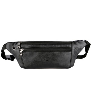 Casual Leather Fanny Pack (in 2 Colors)