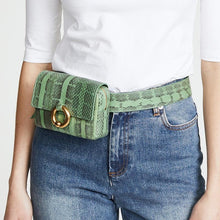 Load image into Gallery viewer, Designer / Leather Style Fanny Pack