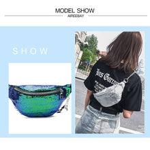 Load image into Gallery viewer, Designer Women's Fanny Pack (comes In 4 Colors)