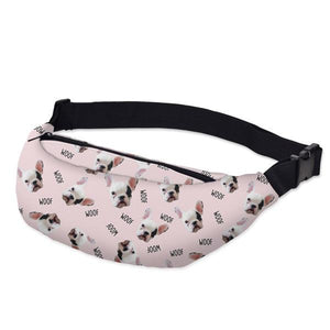 Dog Patterned Fanny Pack For Women