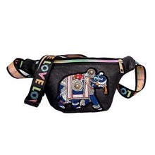 Load image into Gallery viewer, Elephant Fanny Pack (comes In Two Colors)
