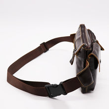 Load image into Gallery viewer, Genuine Leather Fanny Pack