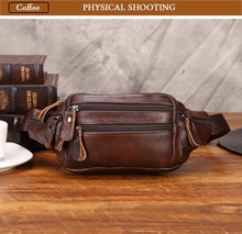 Load image into Gallery viewer, Genuine Leather Fanny Pack For Men (comes In 3 Colors)