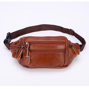 Genuine Leather Fanny Pack For Men (comes In 3 Colors)