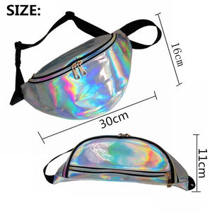 Holographic Fanny Pack (comes In 7 Different Colors)