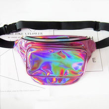 Load image into Gallery viewer, Holographic Men's Fanny Pack