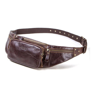 Leather Fanny Pack For Men