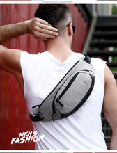 Load image into Gallery viewer, Men's Designer Waterproof Fanny Pack (comes In 3 Colors)