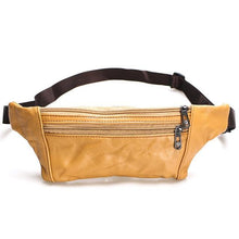 Load image into Gallery viewer, Men's Leather Fanny Pack (in 6 Colors)