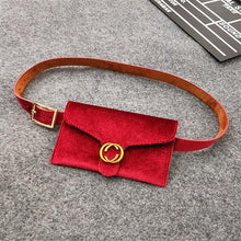 Load image into Gallery viewer, Velvet Fanny Pack For Women (comes In 6 Colors)