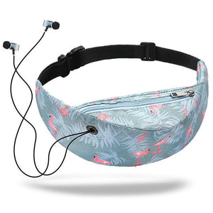 Waterproof Fanny Pack With Earbud Slot