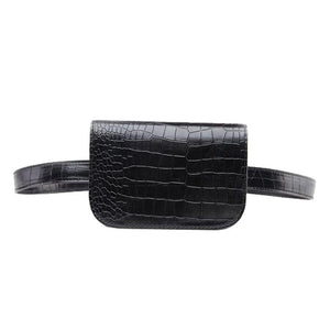 Women Alligator PU Leather Fanny Pack (comes In 6 Colors)