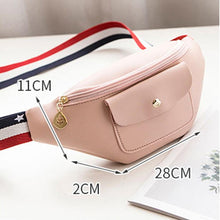 Load image into Gallery viewer, Women's Designer Solid Fanny Pack