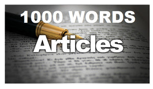1000 Words Article
