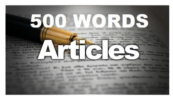 500 Words Article