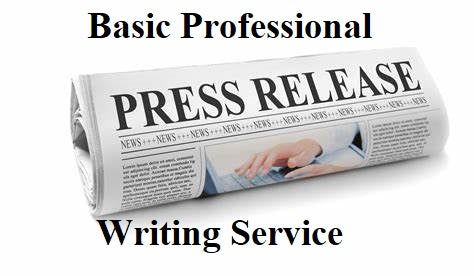 Basic Professional Press Release Writing Service